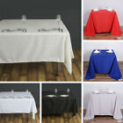 """12 pcs 90"""" SQUARE POLYESTER TABLECLOTH Wedding Party Catering Dinner Linens SALE"""