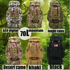 NEW HOT Outdoor 70L Molle Military Tactical Bag Camping Hiking Trekking Backpack