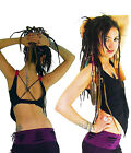 PIXIE TOP Vest top backless Goa clothes dance Yoga top Psy trance FREE Post UK