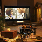 Indoor Outdoor Portable Projector Screen Projection Screen w/ Stand 3D 4K HD