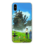 Howl's Moving Castle My Neighbor Totoro Spirited Away Case for iPhone X 8 7 6 6S