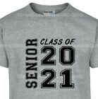 Class of 2019 Senior Graduation T Shirt Squared Small - 6X (16 Tee Colors) image
