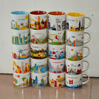 14oz Starbucks Coffee Mug You Are Here City Collector Series Mugs Cup