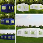 4M 6M 9M Waterproof Outdoor Garden Gazebo Marquee Canopy BBQ Party Tent Sunshade