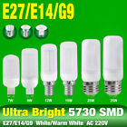 220V 5730 LED Corn Bulb Cool/Warm Milky White E27 E14 G9 Base Lamp 7/9/15/20/25W