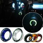 1pc Luminous Car Ignition Key Hole Ring Coil Switch Decor Sticker For Focus Oɔ