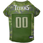 Pets First Tennessee Titans Camo Jersey