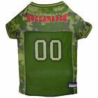 Pets First Tampa Bay Buccaneers Camo Jersey