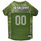 Pets First San Francisco 49ers Camo Jersey