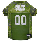 Pets First Indianapolis Colts Camo Jersey