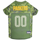 Pets First Green Bay Packers Camo Jersey