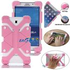 "US Pink Kids Safe Shockproof Silicone Cover Universal Case For 8""~ 9"" Tablets PC"