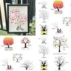 Alternative Guest Book Personalised Wedding  Sign painting Thumbprint Tree