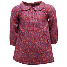 0364W vestito bimba RALPH LAUREN floral pink cotton dress kid girl