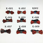 Men's Groom Wedding Bow Tie Wooden Tuxedo Necktie Fashion Birthday Gift