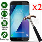 2x Tempered Glass Screen Protector For Samsung Galaxy A3 A5 A7 A8 2017 / 2018/S