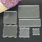 Внешний вид - Handmade Transparent Scrapbook Clear Stamp Pad DIY Tool Acrylic Block Crafts