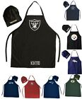 NFL Football Team Barbecue Tailgating Apron And Chef's Hat on eBay