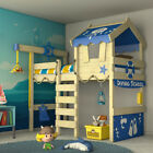 WICKEY CrAzY Jelly Bunk bed Children's Single Bed Adventure bed with platform