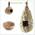 Handwoven Bird Nest Handmade Straw Nest For Parakeets Budgerigar And Small Pet