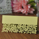 Внешний вид - 50pcs Laser Cut Table Name Card Place Card Wedding Party Decorations