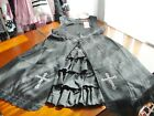 Bodyline Gothic Lolita Cross Motif 2-Piece JSK Dress 2 Colors Size L or 2L NWT