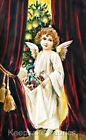 Crazy Quilt Block Christmas Angel Multi Sz FrEE ShiP WoRld WiDE (C10