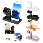 Charging Dock Stand Charger Holder For Apple Watch iWatch iPhone 7 Plus LOT WG