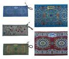 NEW Turkish Coin Purse Carpet Pattern 22cm x 10cm Ethnic From Turkey Exotic