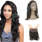 Malaysian 8A Body Wave 360 Lace Frontal Closure Human Hair Lace Closure