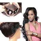 Peruvian 8A 360 Lace Frontal Closure w/300G Body Wave Human Hair Weft 3 Bundles
