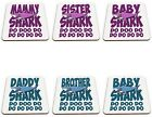Shark Do Doo Do Funny Novelty Glossy Gift Mug Coaster Variation