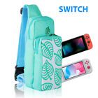 Shoulder Bag For Nintendo Switch /Lite Animal Crossing Carrying Pouch Nylon Gift