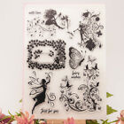Fairy Transparent Silicone Clear Stamps Angel DIY Scrapbook Embossing Card Girl