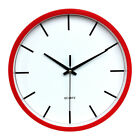 New Large Silent Analogue Round Wall Clock Home Bedroom Kitchen Quartz 25cm
