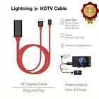 For iPhone Screen To TV Cable HDMI 1080p IOS Adapter USB Charger Converter SMA