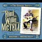 Blind Willie McTell~The Classic Years 1927-1940~BRAND NEW 4 CD BOX SET