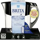 Brita Large 10 Cup Grand Water Pitcher with Filter, BPA Free