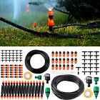 49-82 Feet DIY Micro Drip Irrigation System Plant Self Watering Garden Hose Kit
