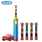 Children Electric Toothbrush Oral B Disney Cars Replaceable Tooth Brush Heads