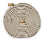 WHITE 3/4 In. Forestry Hose Brass Garden Hose Coupling (Choice of 75