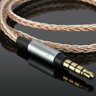 7N 8core Upgrade Audio Cable For Fostex T60RP Semi-Open Regular Phase Headphones