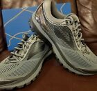 BRAND NEW IN BOX BROOKS GHOST 10 MENS RUNNING SHOES GRAY BLACK D MEDIUM WIDTH
