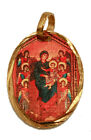 Our Lady of Angels Medal 14k Gold Plated with 18 Chain - Virgen de Los Angeles on Ebay