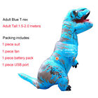 Inflatable Dinosaur Costumes Fancy Dress Adult Kid Halloween Xmas Blowup Cosplay