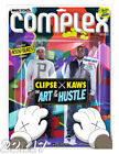 Clipse x Kaws 'The Art Of The Hustle' Complex Magazine Cover Poster or Art Print