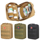 Tactical First Aid Kit Bag Molle Medical EMT Emergency Survival Pouch Outdoor
