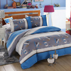 3 Or 4pcs Cotton Blend Mix Patterns Paint Printing Bedding Sets Twin Full Queen image