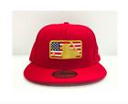 Los Angeles Dodgers New Era 2018 Batterman 4th of July 59FIFTY Fitted Hat- Red