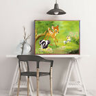 Modern Paintings Disney Art Canvas HD Print Home Wall Decoration Bambi